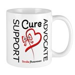 Stroke Support Butterfly Mug