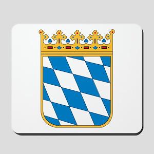 Bavaria Coat of Arms Mousepad