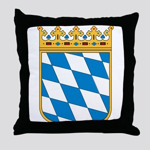 Bavaria Coat of Arms Throw Pillow