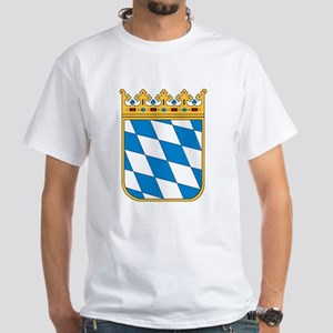 Bavaria Coat of Arms White T-Shirt