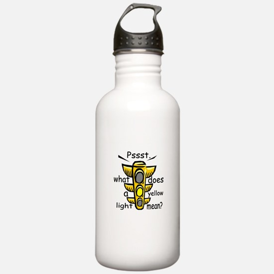 What Does A Yellow Light Mean Water Bottle