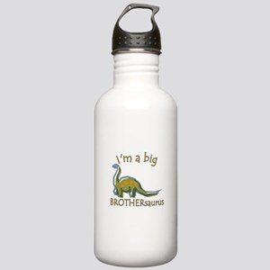I'm a Big Brothersaurus Stainless Water Bottle 1.0