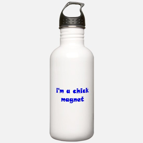 I'm a Chick Magnet Water Bottle