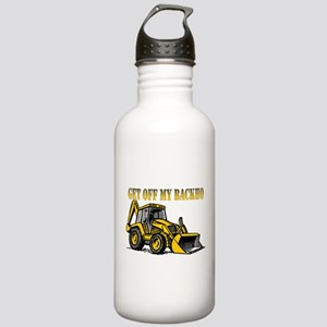 Off My Backhoe Stainless Water Bottle 1.0L