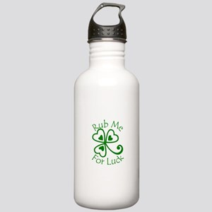 Rub Me For Luck Stainless Water Bottle 1.0L
