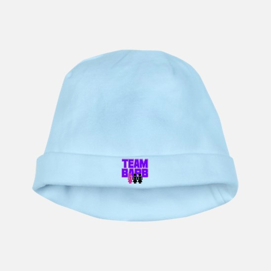 Team Barb baby hat