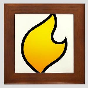 The Flare's Costume Logo! Framed Tile