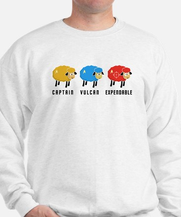 Star Trek Sheep Sweatshirt