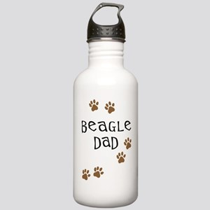 Beagle Dad Stainless Water Bottle 1.0L