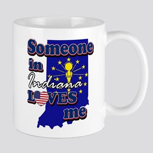 someone in Indiana loves me Mug