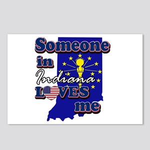 someone in Indiana loves me Postcards (Package of