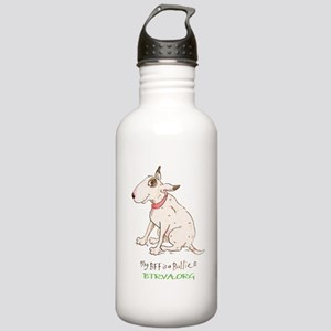Bull Terrier Rescue Stainless Water Bottle 1.0L