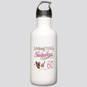 Fabulous 60th Stainless Water Bottle 1.0L