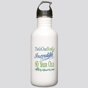 Incredible 60th Stainless Water Bottle 1.0L