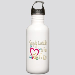 Lovable 100th Stainless Water Bottle 1.0L