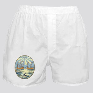 Buenos Aires Coat of Arms Boxer Shorts