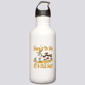 Cheers on 67th Stainless Water Bottle 1.0L