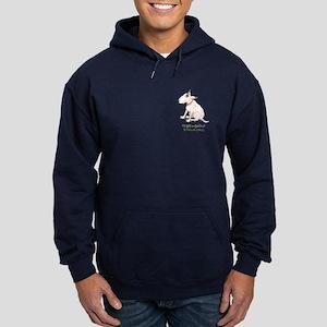 Bull Terrier Rescue Hoodie (dark)