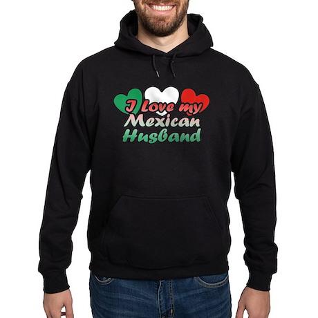 I Love My Mexican Husband Hoodie (dark)