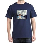 Abrahamster in Alaska Black T-Shirt