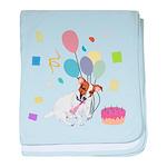 JRT Happy Birthday Gifts baby blanket