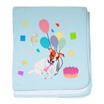 JRT Happy Birthday Gifts baby blanket