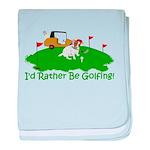 JRT The Pro Golfer baby blanket