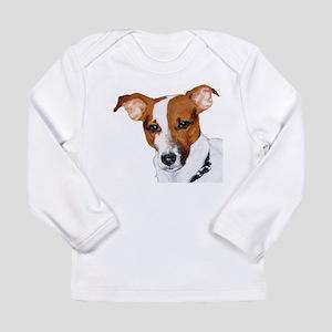 Jack Russell Portrait Long Sleeve Infant T-Shirt