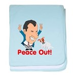 President Nixon and JRT Peace baby blanket