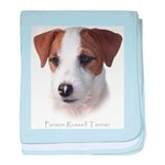 Parson Jack Russell baby blanket