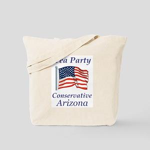 Tea Party Arizona Tote Bag