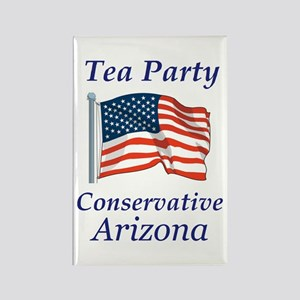 Tea Party Arizona Rectangle Magnet