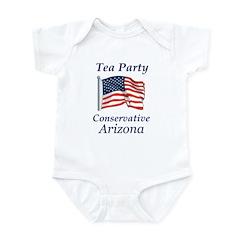 Tea Party Arizona Infant Bodysuit