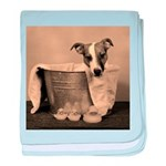 Old Fashioned JRT baby blanket