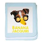 Banana Jacquiri baby blanket