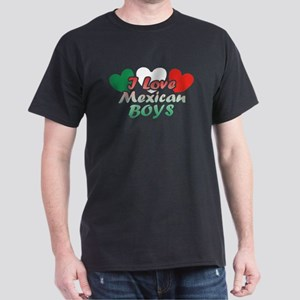 I Love Mexican Boys Dark T-Shirt