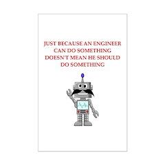 engineering joke Posters