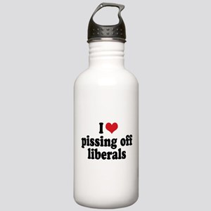 Anti-liberal I heart Stainless Water Bottle 1.0L