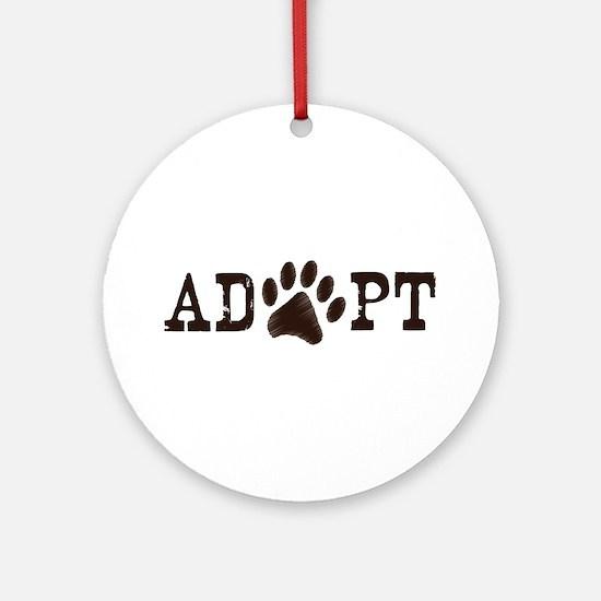Adopt an Animal Ornament (Round)