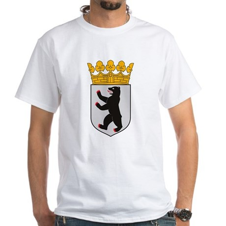 Berlin Coat of Arms White T-Shirt