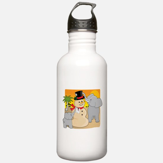 Sahara Christmas Water Bottle