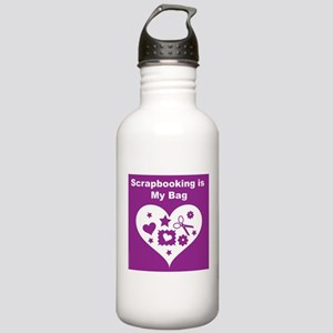 Scrapbooking is MY Bag Stainless Water Bottle 1.0L