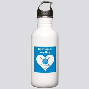 Knitting is MY Bag Stainless Water Bottle 1.0L