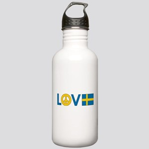 Love Peace Sweden Stainless Water Bottle 1.0L