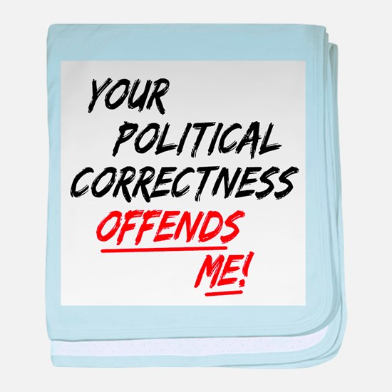political correctness baby blanket