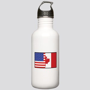 USA/Canada Stainless Water Bottle 1.0L