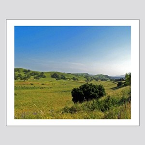 Hills in Wine Country Poster