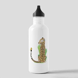 Animal Alphabet Jaguar Stainless Water Bottle 1.0L