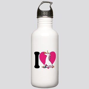 I Love Unicorns Stainless Water Bottle 1.0L