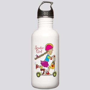 Scooter Girl Stainless Water Bottle 1.0L